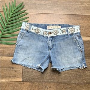 Joes Jeans Embroidered Shorts sz 29